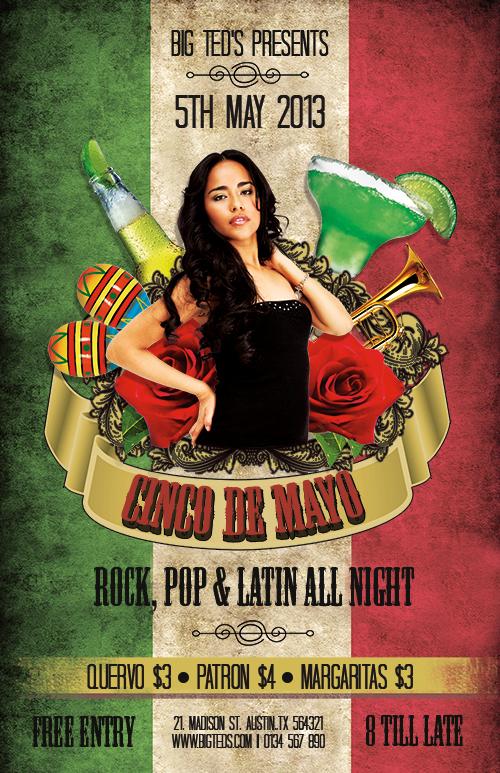 FREE Cinco de Mayo Flyer Templates | NextDayFlyers