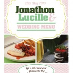 FREE Wedding Menu Design – Photoshop Templates