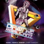 FREE Artistic Club Flyer Templates for Dubstep, Dance, Trance, & House