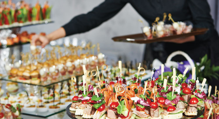 Image result for Catering can enhance the taste and serving of the food