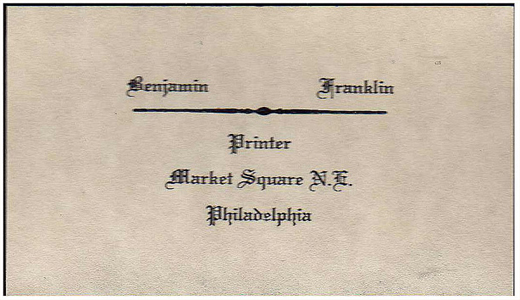 benjamin-franklin-business-card