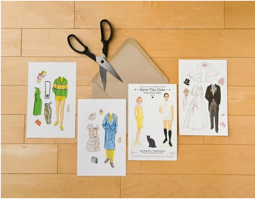 save-the-date-cut-outs