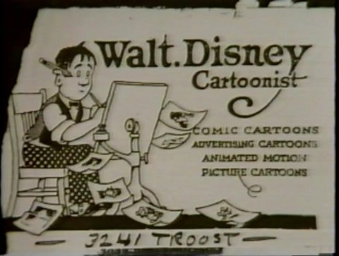 Great american business cards from abe lincoln to lady gaga heres walt disneys business card pre disney empire this business card image of a lowly struggling animated artist is proof of the american dream and colourmoves