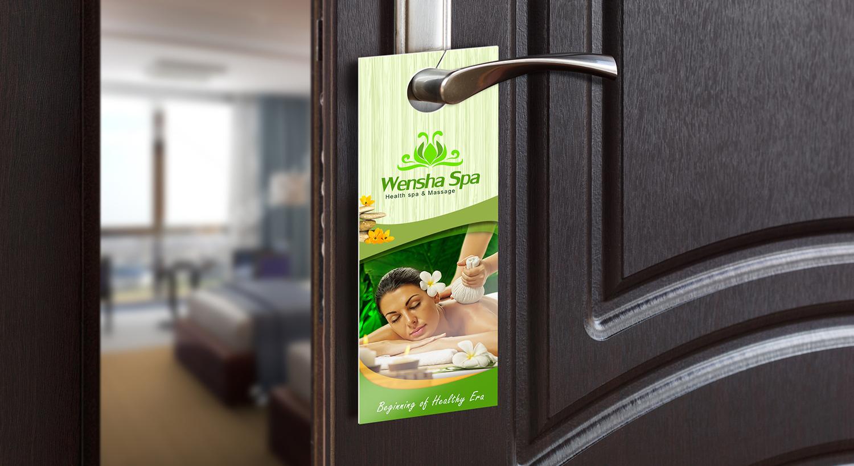 NDF Door Hangers