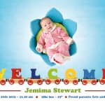 Free Birth Announcements Templates for Photoshop & Illustrator