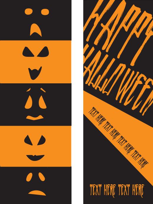 t_bm_standard_front - Halloween Book Marks
