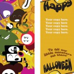 Spooks and Ghouls and Creeps and Fools! Get Monster Bookmarks Templates for Halloween!