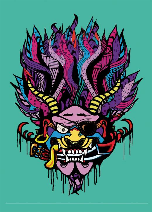 halloween _pirate_old_school_tattoo