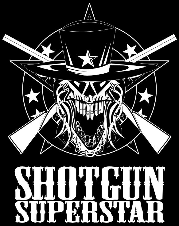 Logo for band Shotgun Superstar