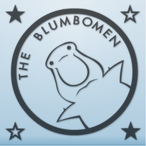 Sticker for the band The Blumbomen