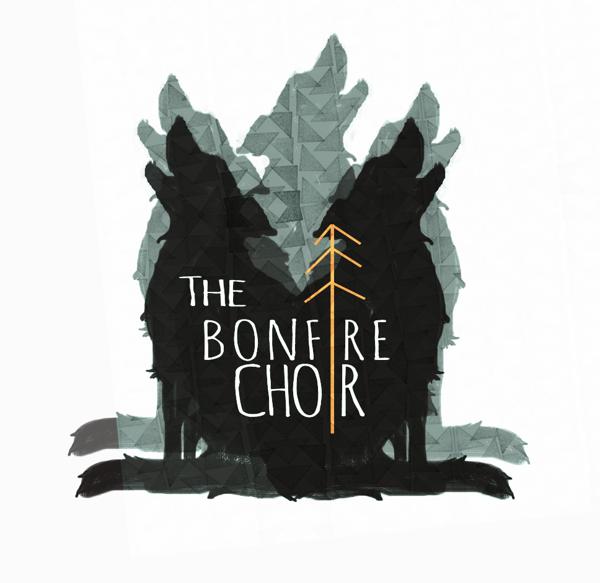 Logo for band The Bonfire Choir