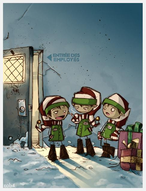 elf on break