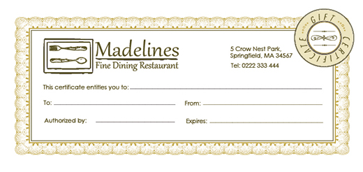 Free holiday gift certificate templates in photoshop and for Dining gift certificate template