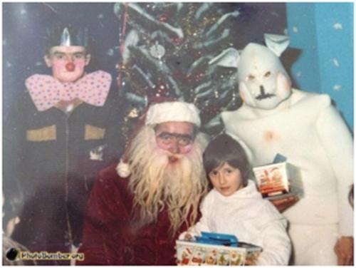 christmas scary santa