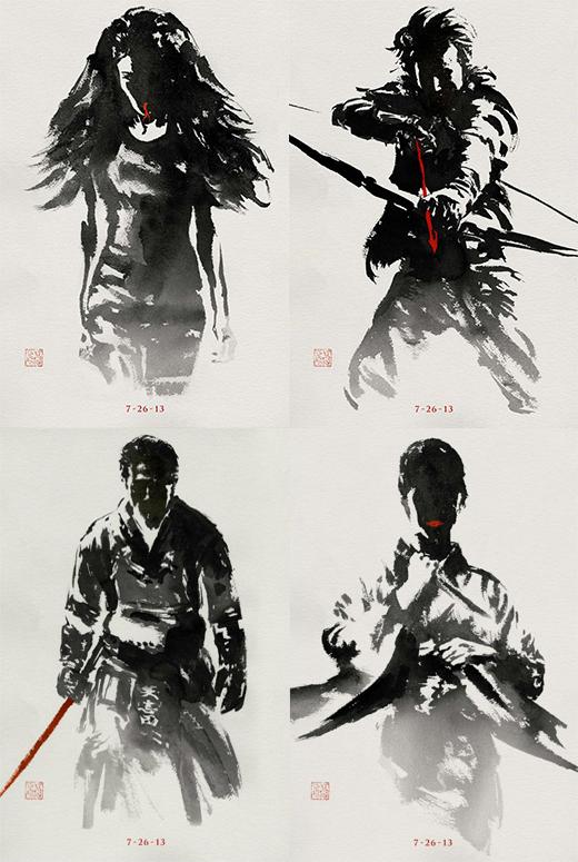 Viper In The Wolverine 2013 Movie Poster Nextdayflyers