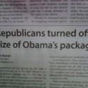 Obama Headline