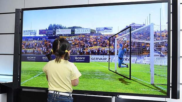 4k HDTV ultra high resolution TV