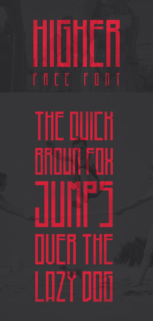 free art deco font 8