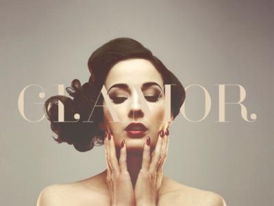 free glamor font