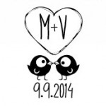 18 Free Monogram Designs for Your Wedding Stickers, Invitations, Projections, and More!