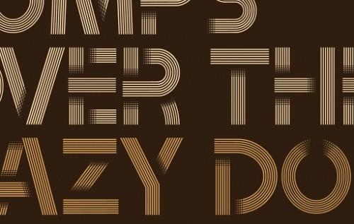 tribbon free font