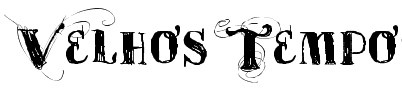 free font-velhos tempo