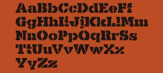 kaine free font