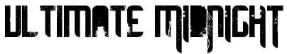 ultimate midnight free font