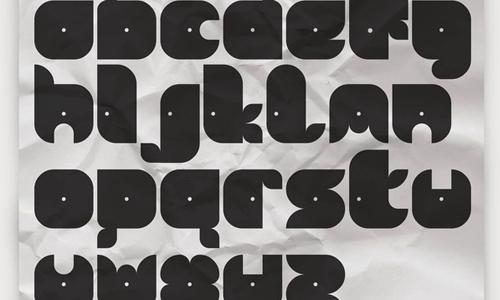 free zero base font
