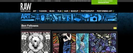 raw artist network