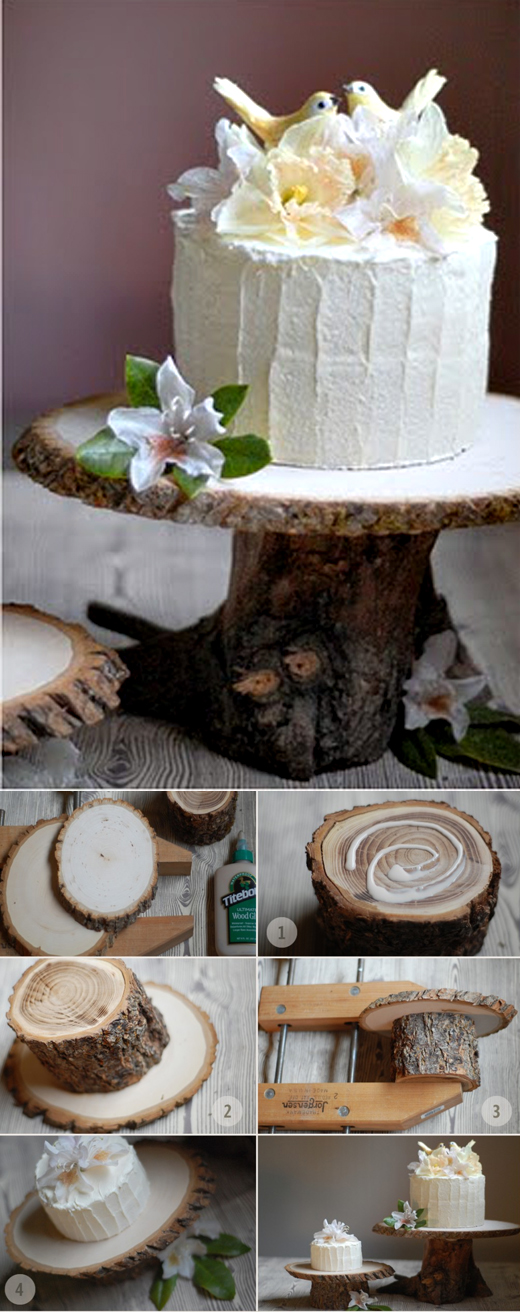 10 of the best do it yourself wedding decoration ideas for your rustic cake stand wedding decoration ideas 4 solutioingenieria Images