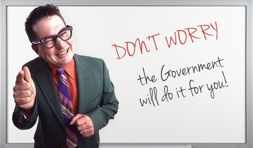 government handout for business