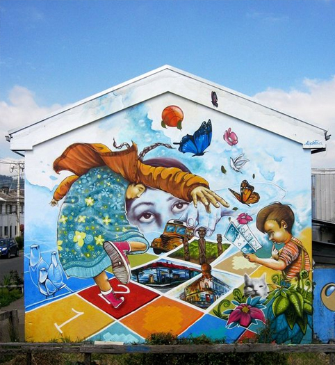santiago  street art 5