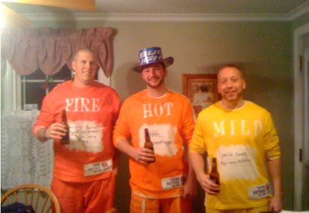taco bell hot sauce costumes  sc 1 st  NextDayFlyers & 22 Funny and Easy Halloween Costume Ideas