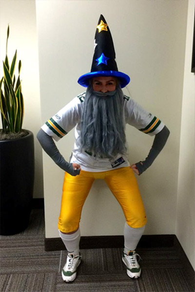 fantasy football easy halloween costume & 22 Funny and Easy Halloween Costume Ideas