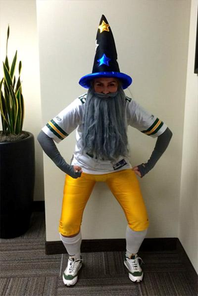 fantasy football easy halloween costume