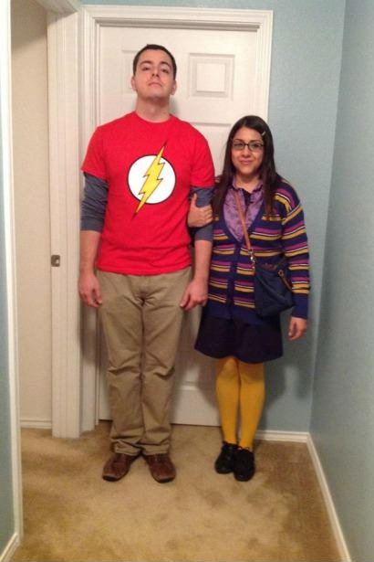big bang theory halloween costume