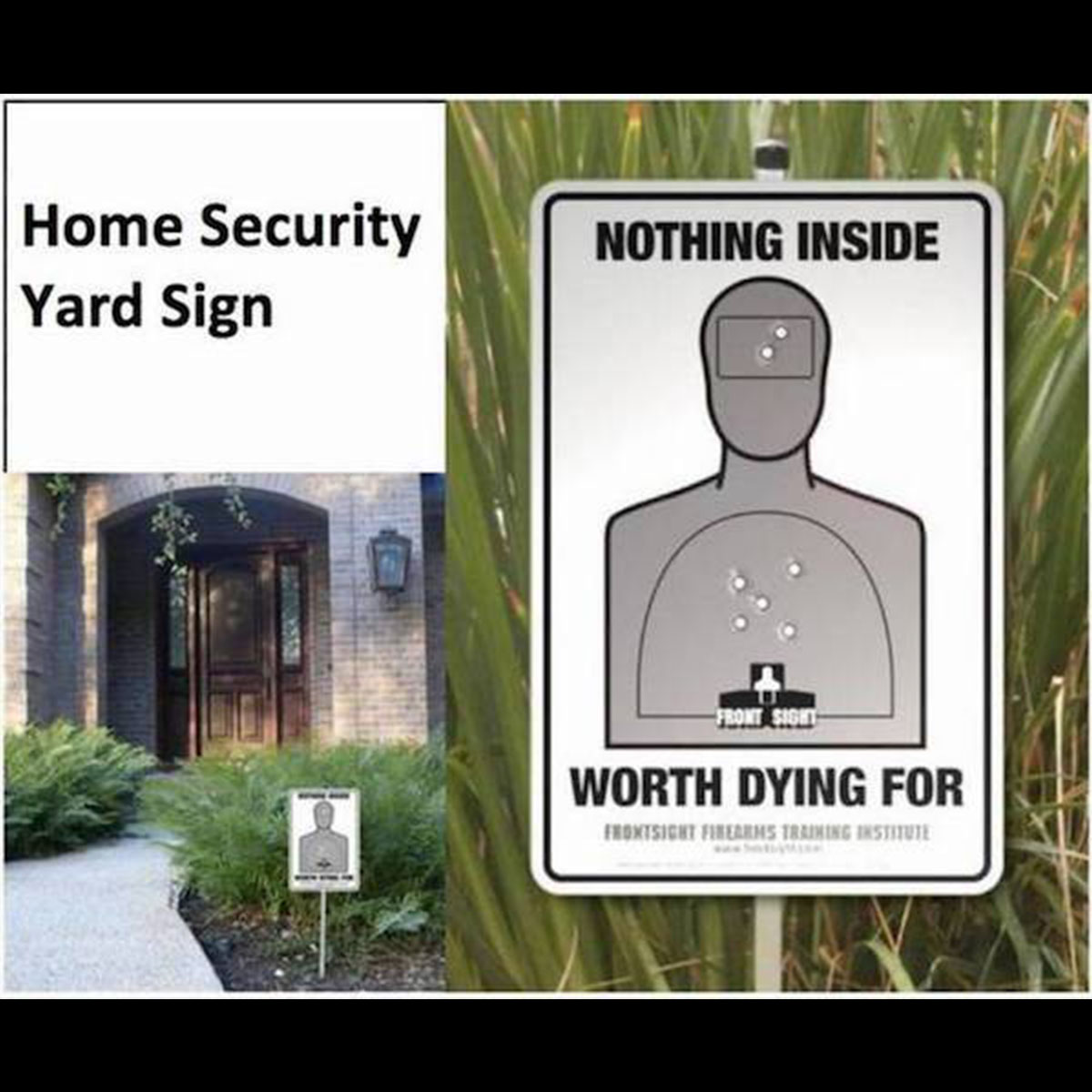 Funny Yard Sign 26