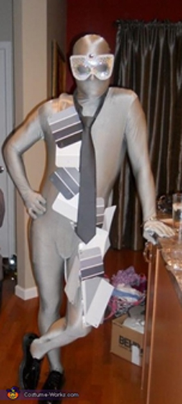 Shades of gray costume for halloween