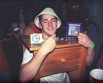 one night stand funny halloween costume  sc 1 st  NextDayFlyers & 22 Funny and Easy Halloween Costume Ideas