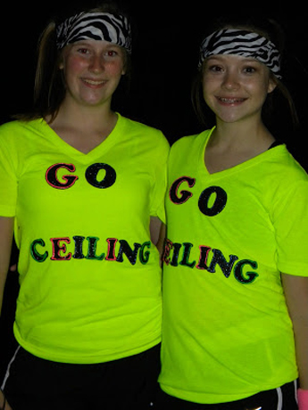 ceiling fan funny halloween costume.