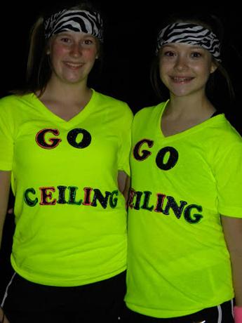 ceiling fan funny halloween costume.