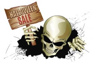 free halloween shopfront cling
