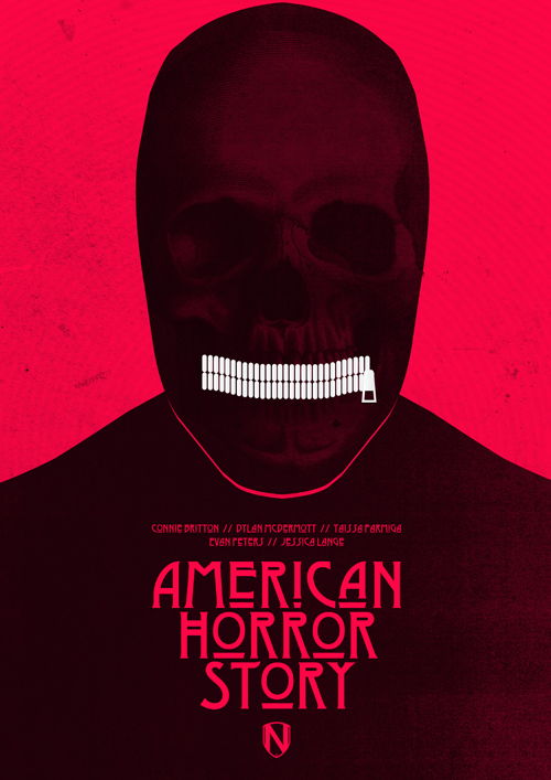 american horror story fan art