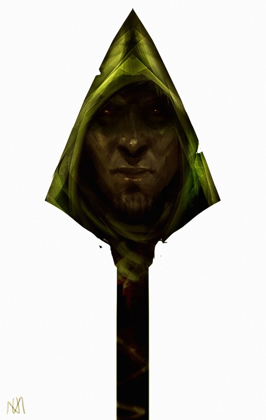 arrow tv show fan art