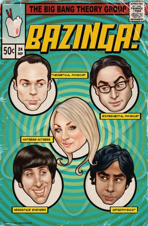 tv show posters big bang theory