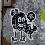 Small Street Art is Beautiful – 25 Cool Stickers and Paste-Ups!