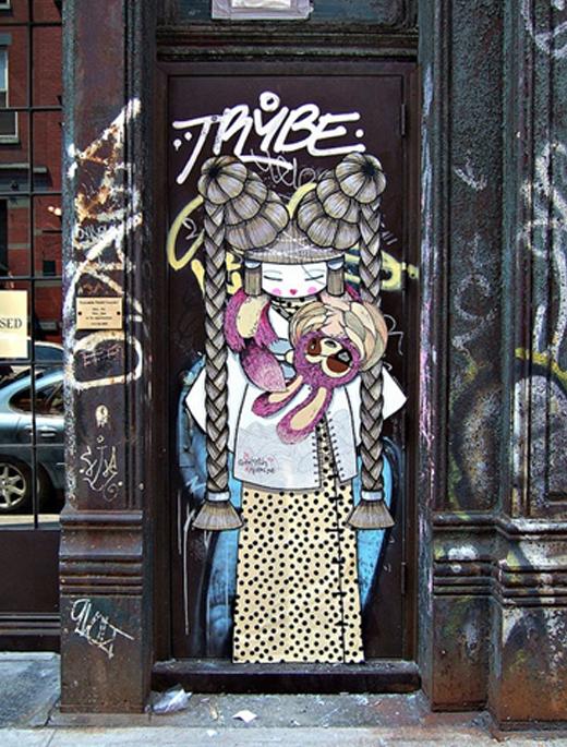 street-art-geisha
