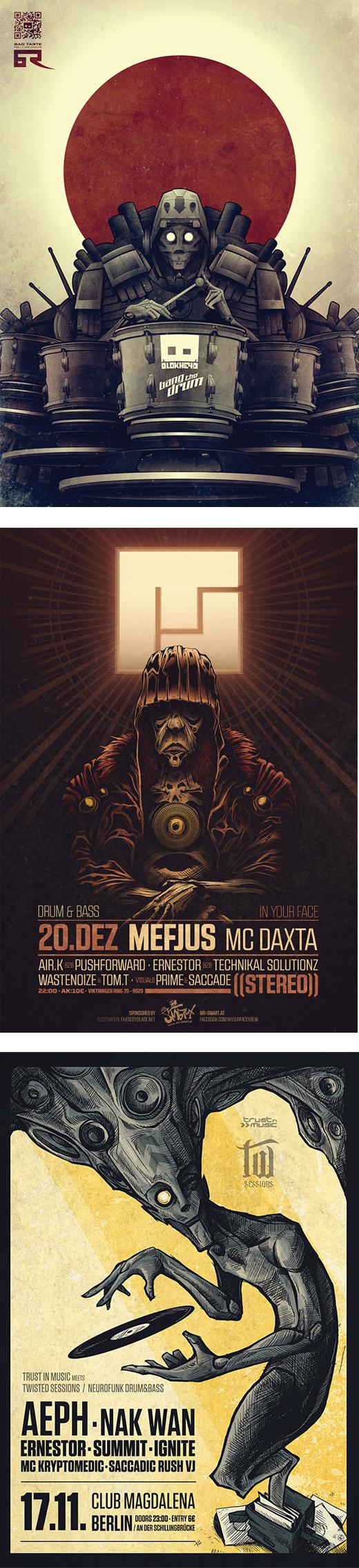 illustration event poster