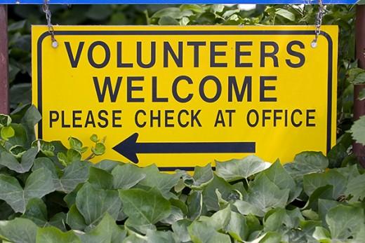 Welcome volunteers